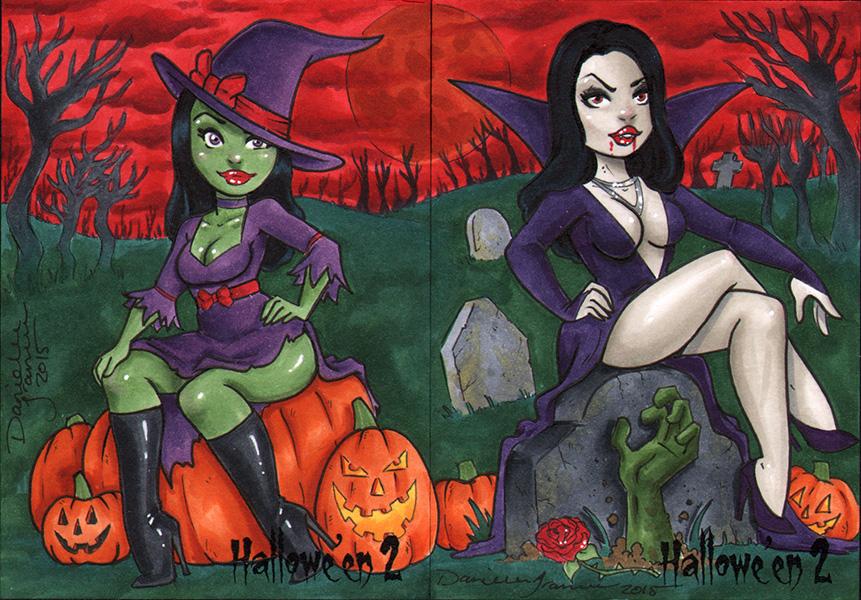 Ladies of Hallowe'en by dsoloud