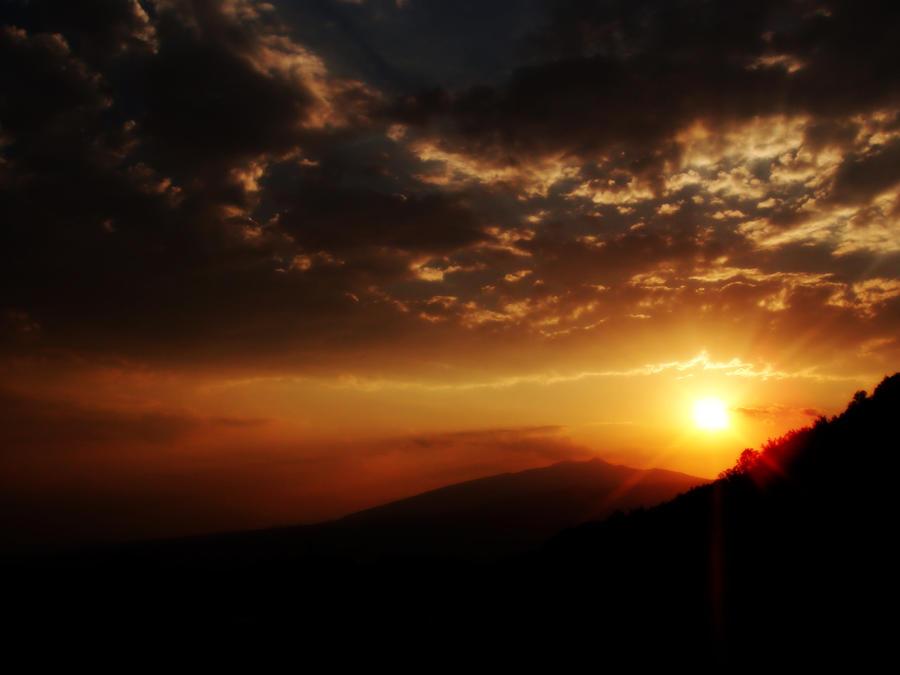 Sunset 01 by SchwarzTeufel
