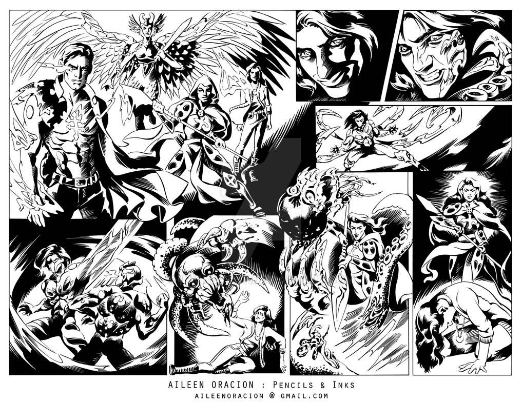 Artifacts Comics, Page 3-4