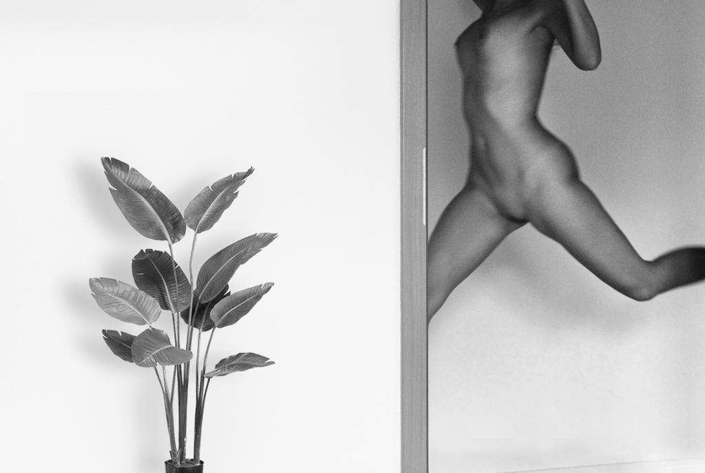 Jump and a flower by Lucienel