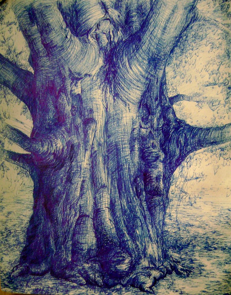 Tree Sketch 5 by dragon-mist