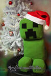Minecraft Creeper Plushie
