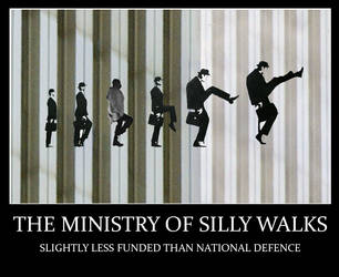 Silly Walks by GraphicFeedback