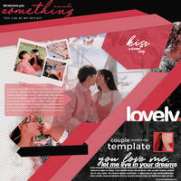 Template  couple  love  pink  new