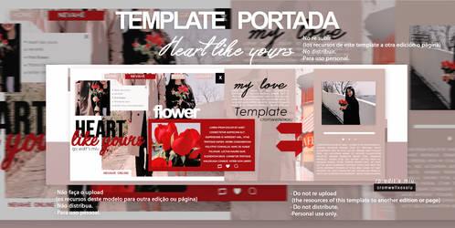 Template couple heart like yours by CromwellXoxoLu