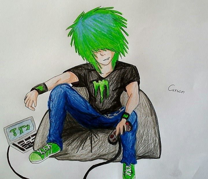 Carson The Gamer by cresent117