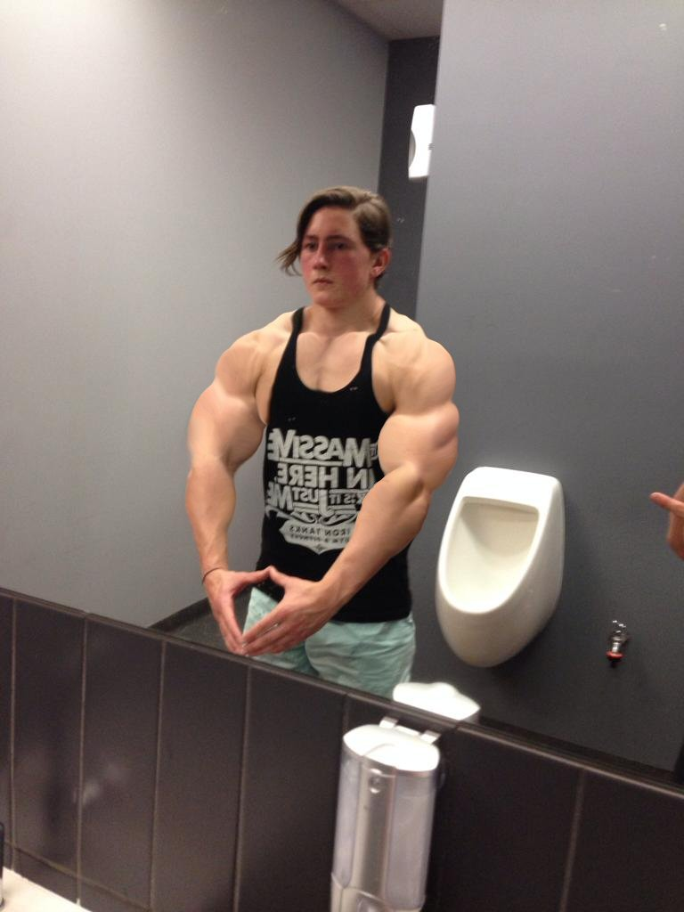 Sexy Musclemorphed UK Hunk11 by free42dream