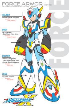 Megaman X4 Force Armor PC-Ver.Ke