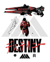 Destiny Akira Mashup - Warlock by Redblaze4080