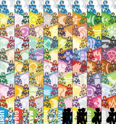 Megaman X Weapons-Ver.Ke by Redblaze4080