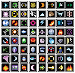 MMX Weapon Icons