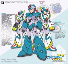 Megaman X4 Frost Tower-Ver.Ke by Redblaze4080