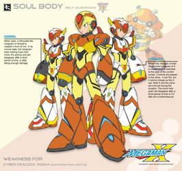 Megaman X4 Soul Body-Ver.Ke by Redblaze4080