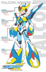 Megaman X5 Falcon Armor-Ver.Ke by Redblaze4080