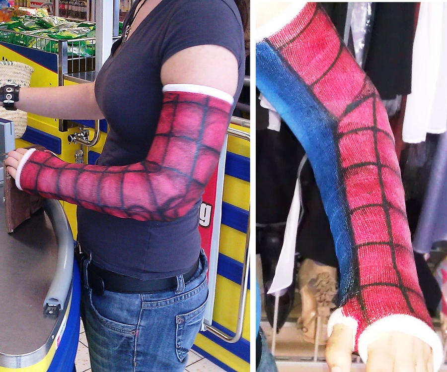 Spider-Man Graffiti Cast