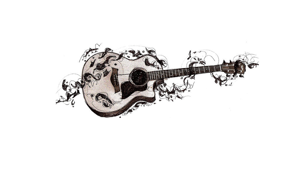 guitar tattoo sketch by guitar tattoo designs 3 skull guitarAcoustic Guitar Drawing Tattoo