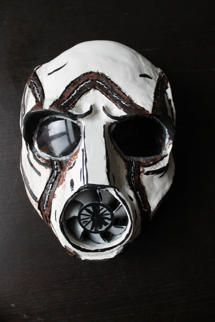 Custom Borderlands Psycho Mask by MssMime