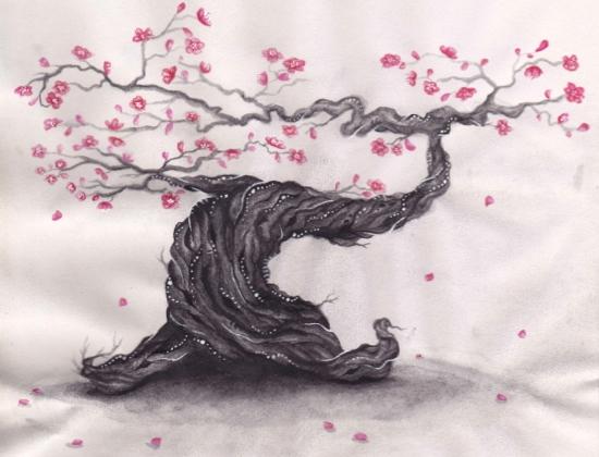 Magical Cherry Tree by carolinejmart