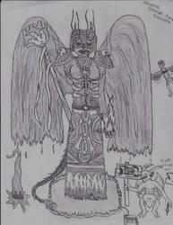 Forsaken Warlock : Monra Sarah Dawn by Shaylore
