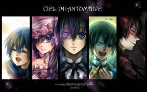 ciel phantomhive by cintychikooo