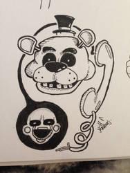 Doodle FNAF by FoeApple
