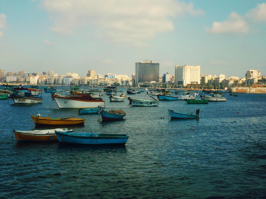 Fishing boats [2] by Sara0TH