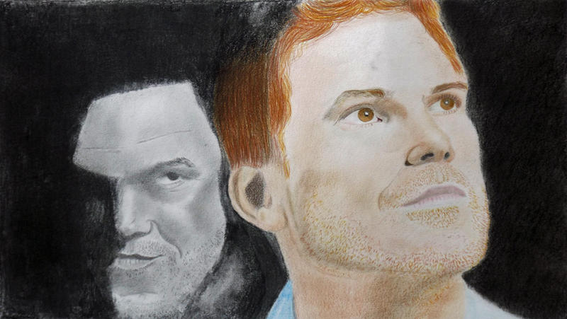Dexter and the dark passenger by Sara0TH