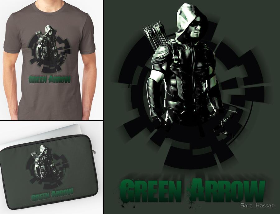 Green Arrow [merch] by Sara0TH