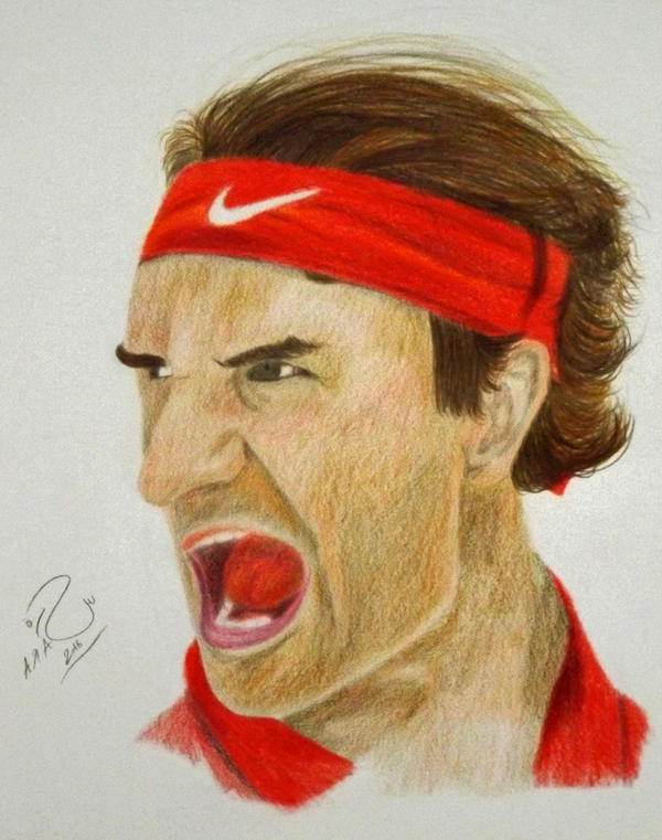 Roger Federer by Sara0TH