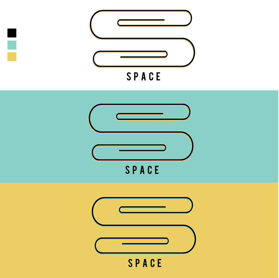 Space offices logo #ThirtyLogos by Sara0TH