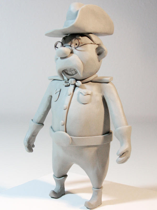 """Teddy"" Clay Model by beeliu"