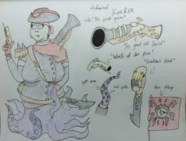 Admiral Kraken by RageToaster