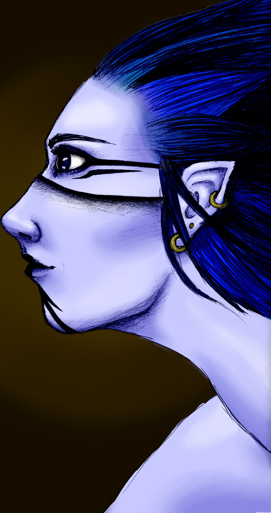 Blue Hunter by aloramilan