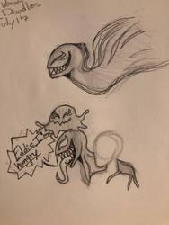 Blob venom doodles