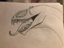 Dragon venom lineart