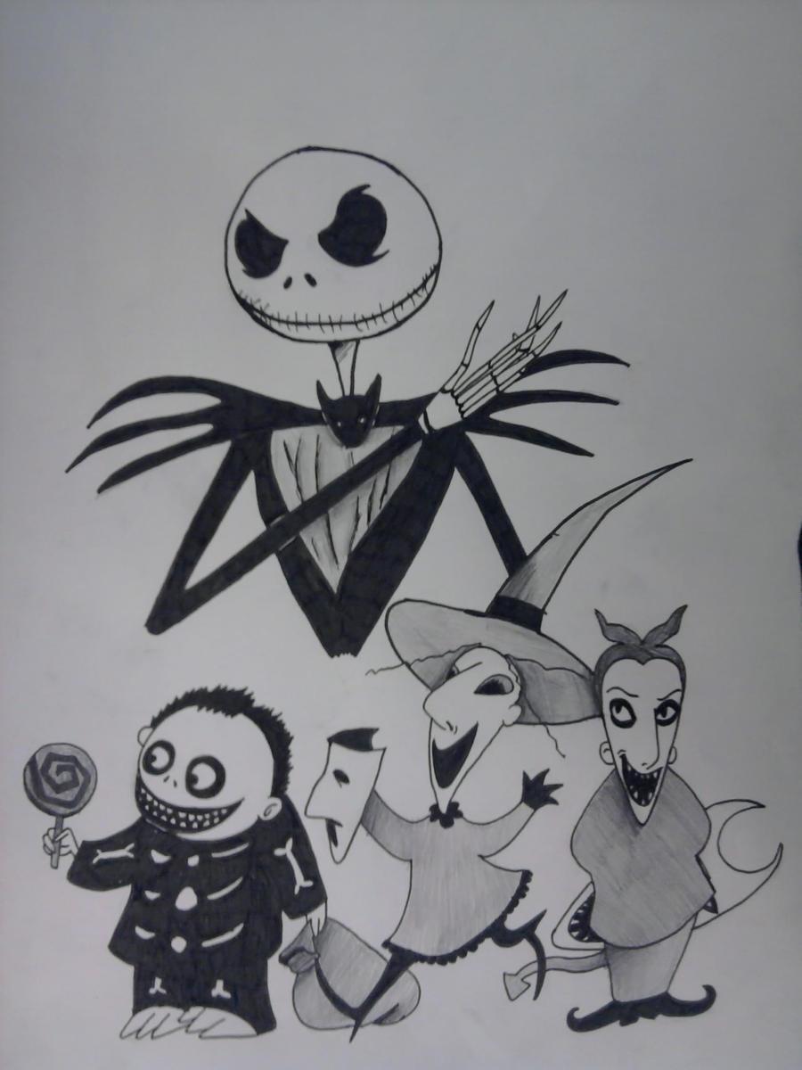 the nightmare before christmas jack by cihiro97 on DeviantArt