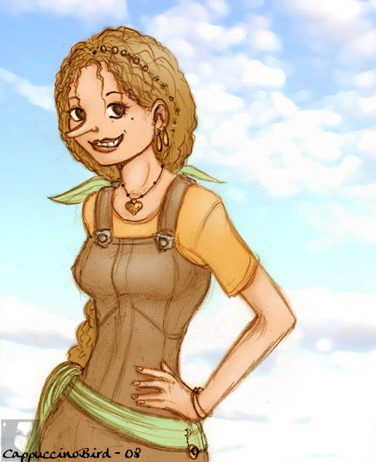 Daughter of the Strawhats by CappuccinoBird