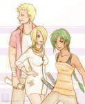 Sanji and Zoro's hellspawn