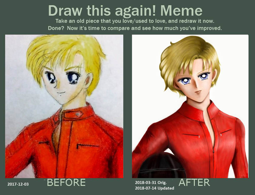 Draw This Again - Haruka by TheKissingHand