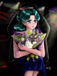 Sailor Moon - Michiru DAiC by TheKissingHand