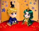 Sailor Moon - Hinamatsuri Haruka Michiru by TheKissingHand