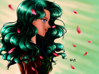 Sailor Moon Kaioh Michiru redraw S Season Ep.92 by TheKissingHand