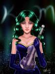 Sailor Moon - Kaioh Michiru Concert by TheKissingHand