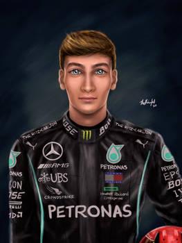 F1 Fanart - George Russell