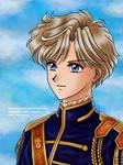 Sailor Moon - SilMil Uranus [Gift] by TheKissingHand