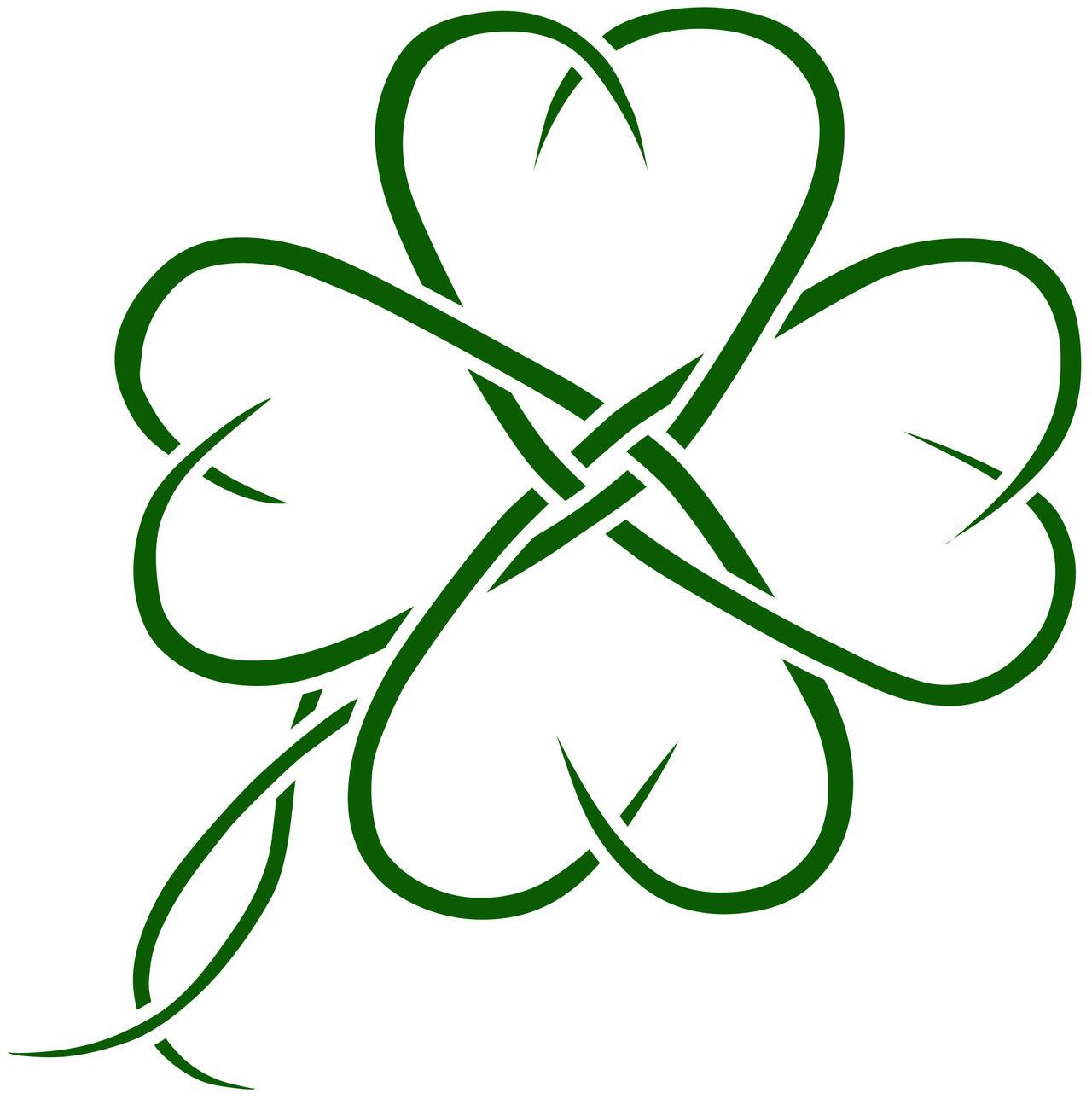 Celtic clover tatto design by seanroche on DeviantArt