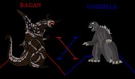BAGAN X GODZILLA by bagan-x-godzilla