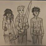 Leo, Piper, Jason