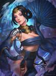 Kitana - Mortal Kombat X [FANART]