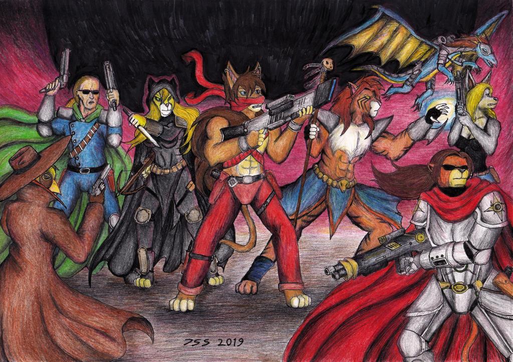 Heroes of Future Karamador, The Lower Half